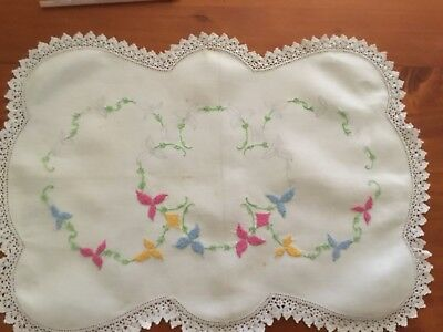 Vintage Unfinished Embroidery