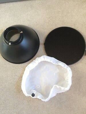 30 cm Beauty Dish With Honeycomb