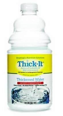 Thick It AquaCare H2O Thickened Water Beverage, 0.5 Gallon -- 4 per case.