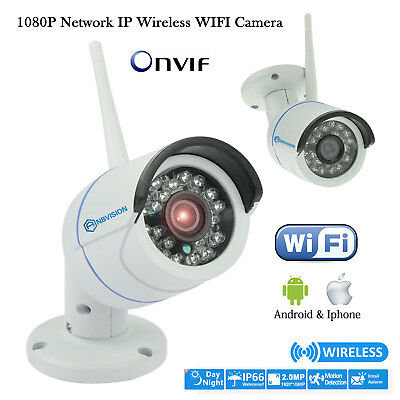 Anbvision Wireless WIFI HD 2.0MP 1080P IP Outdoor CCTV P2P Onvif Security Camera