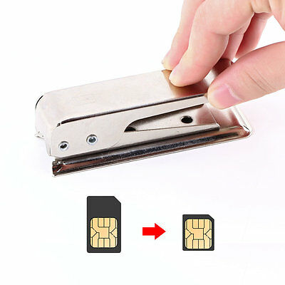 Standard Regular Micro SIM Card to Nano SIM Cut Cutter For Apple5 iPhone5 5G CC