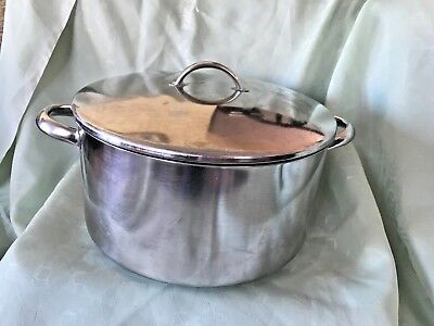 Demeyere Stainless Steel Pan Saucepan With Lid 29cm - Used