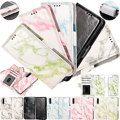 Detachable 2 in 1 Case Wallet Magnetic Cover For iPhone Samsung S9 + Huawei P20