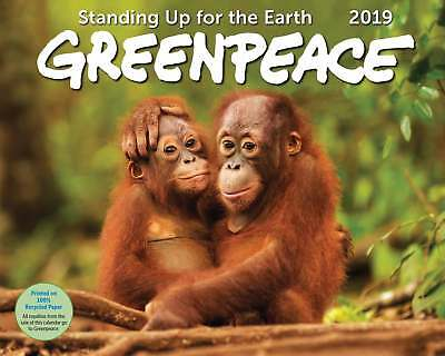 Greenpeace Deluxe Calendar 2019 Animals  Month To View