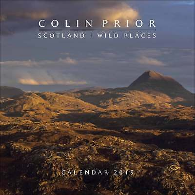 Colin Prior Scotland Wild Places Calendar 2019 Travel & Transport Month To View