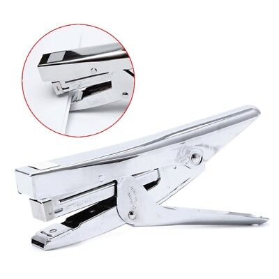 Durable Metal Heavy Duty Paper Plier Stapler Desktop Office Supplies Stationery