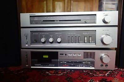 Pioneer stereo tuner amplifier TA-110L with Pioneer PL-110 Turntable (No CD)