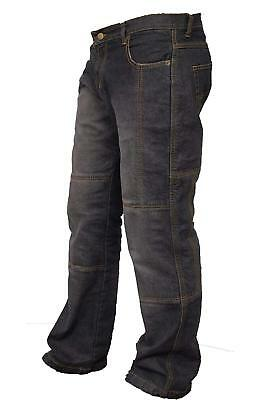 Motorcycle Motorbike Jeans With Pad Denim Biker Trouser Distressed Pants