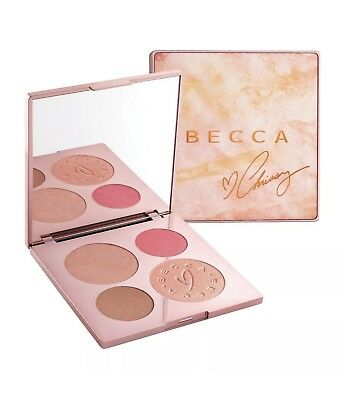 Becca X Chrissy Teigen Glow Face Palette. Becca Cosmetics. Shipping Included