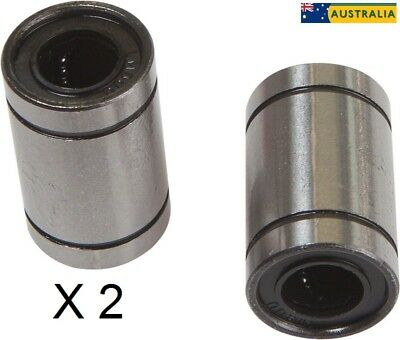 Linear Bearing 8mm LM8UU,For 8mm Shaft-3D Printer/CNC-2 Pack(AU Stock-FREE Post)