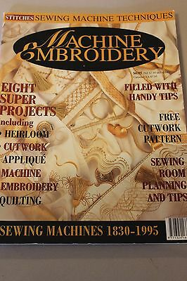 Machine Embroidery Magazine
