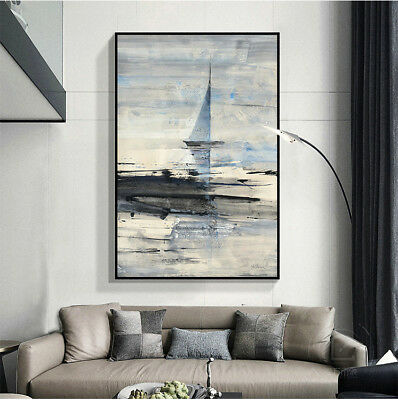 HH357 Modern Simple Abstract Decoration oil painting Hand-painted on canvas