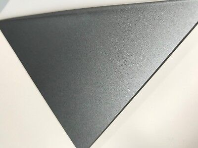 Acrylic Silver Metallic 3mm thick A4