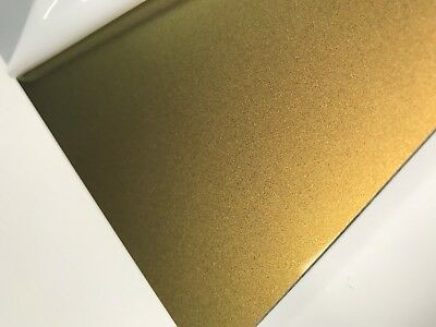 Acrylic Gold Metallic 3mm thick A4