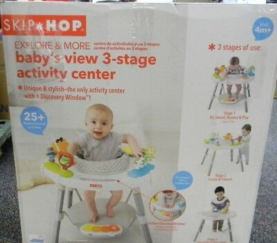 Baby Jumper Seat SKIP*HOP Explore and More Jumpscape 3 Stage Activity Center