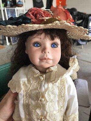 Molly by Phyllis Parkins Porcelain Doll