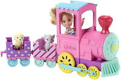 Barbie Club Chelsea Train with Doll FRL86