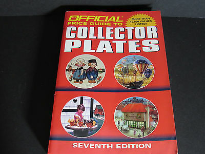OFFICIAL PRICE GUIDE  to COLLECTOR PLATES  ~ Reference Book  Seventh Edition