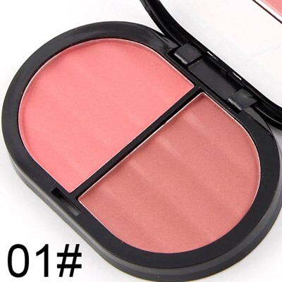 South American Style Blush Makeup Cosmetic Natural Blusher Powder Palette H5