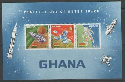 Ghana Sgms482 1967 Peaceful Use Of Outer Space Mnh