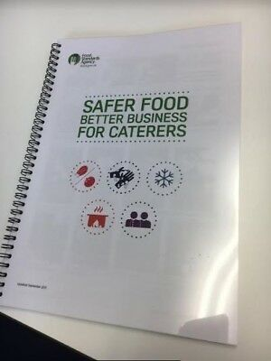 Safer Food Better Business Catering FSA PACK - Now includes Acrylamide Section
