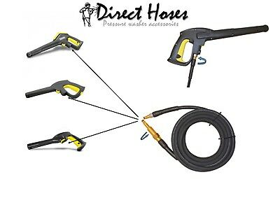 KARCHER K4 Full Control RUBBER Heavy Duty Hose NS/NS convert to swivel Trigger