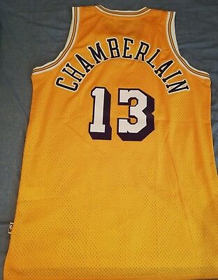 Wilt Chamberlain #13 - Los Angeles Lakers - Size L - Swingman Jersey