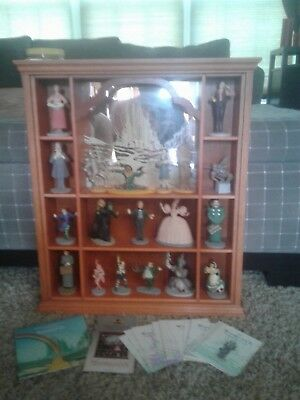 The franklin mint wizard of oz collection with display