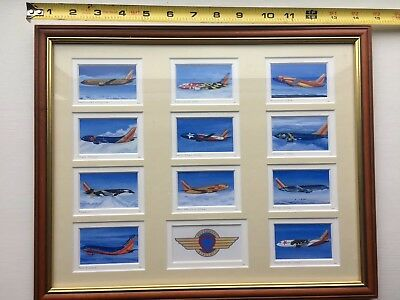 Southwest Airlines Collectible Framed Artwork-Southwest Airlines Memorabilia