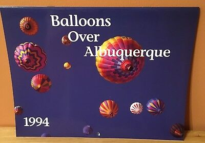 1994 Albuquerque International Balloon Fiesta Calendar~Balloons Over Albuquerque