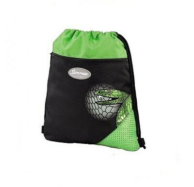 "Sammies by Samsonite® Sportbeutel Turnbeutel Schlange ""Green Mamba"" - NEU !"