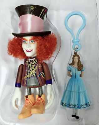 Alice And Mad Hatter Mini PVC Action Figures Decoration Toys Dolls