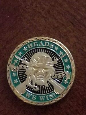 Heads We Win Tails You Lose Sniper Challenge Coin
