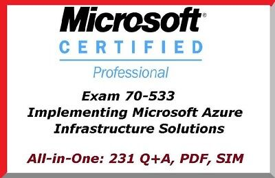 Best Exam Practice Material for 70-533 Exam Q&A+SIM Implementing Microsoft Azure