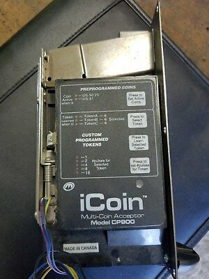 Car Wash Coin Acceptor