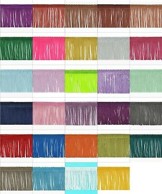 Expo International 10-Yard Metallic Chainette Fringe Trim Lime 12-Inch