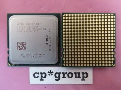 LOT OF 2 AMD Opteron 2431 Six Core Server CPU Processor 2.4GHz 6MB OS2431WJS6DGN