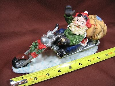 Motorcycle Santa Clause #1