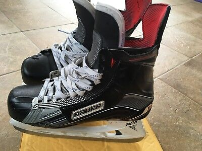 Pro Stock Bauer 1x Skates Game Worn Couturier Flyers MeiGray Size 11 E