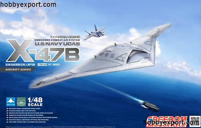 Neuheit ! Freedom Fighter X-47 B Ucav In 1/48