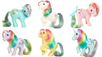 My Little Pony 35th Anniversary Scented Ponies Rainbow Collection