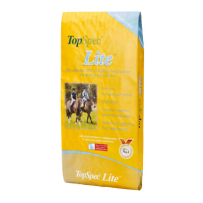 Topspec Lite Balancer Horse & Pony Feed 15Kg Good Doers Calorie Controlled