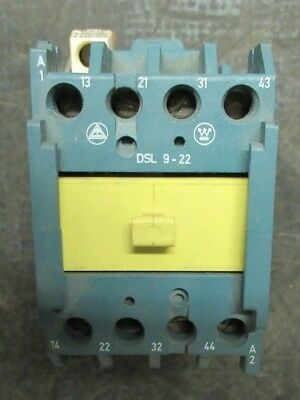 Westinghouse Contactor Dsl9-22 600V 10A **warranty Included**