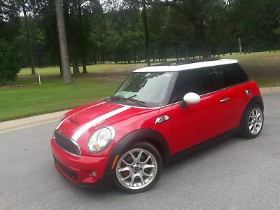 2011 Mini Cooper S SPORT PANORAMIC ROOF LEATHER NEW TINT CD HEATED SEATS 6 SPD MANUAL WILL SHIP