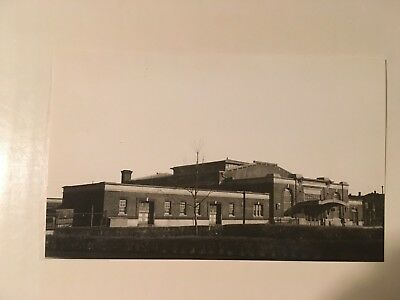 Vintage photo NY NH & H Railroad station Pawtucket- Central Falls Rhode Island