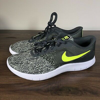 eaec868915f377 Nike Youth Shoes Size 7Y Flex Contact GS Anthracite Volt-Barely Volt 917932-