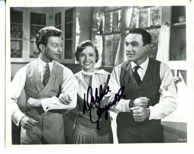 singin' in the rain DEBBIE REYNOLDS autograph SIGNED 2794