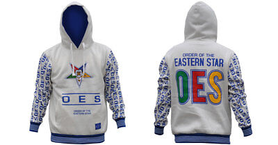 Order of the Eastern Star OES Hoodie- Size XL--New!