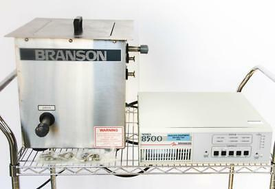 Branson Ultrasonic Power Supply 8500 S8540-12 & Tank C102-40-12S (4765)