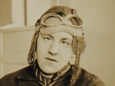 1930s U.S.NAVY RETIRED PILOT PHOTO ~ SICK DAY ~ LOOK